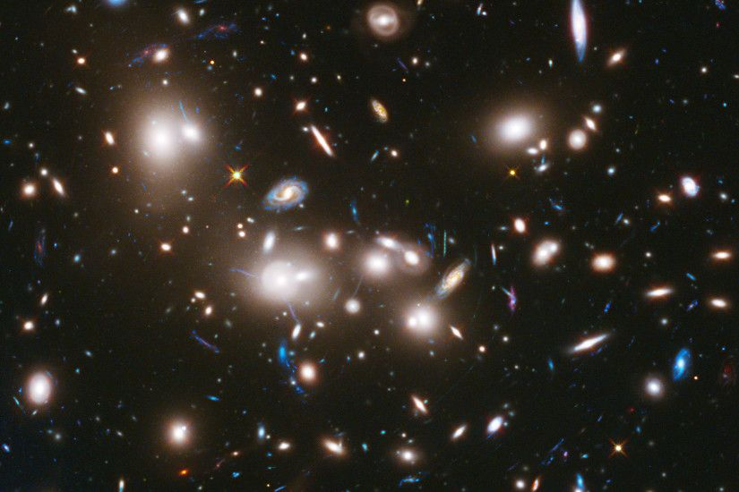Trillions of stars in one tiny corner of space, photographed by Hubble:""