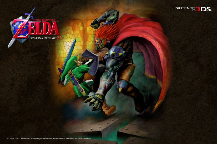 Legend Of Zelda Ocarina Of Time Wallpapers For Desktop Wallpaper
