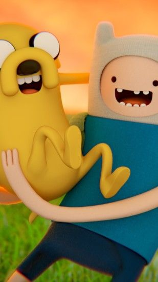 Adventure time wallpaper iphone adventure time finn and jake wallpaper for iphone 6 plus voltagebd Image collections