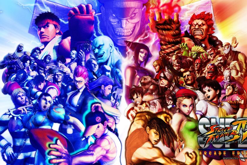 Super Street Fighter IV Arcade Edition: Wallpapers