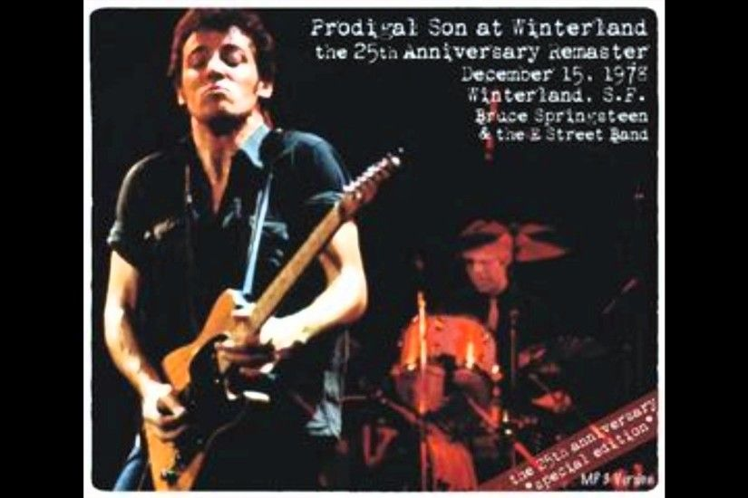 Bruce Springsteen - Live At Winterland - 2. Streets of Fire