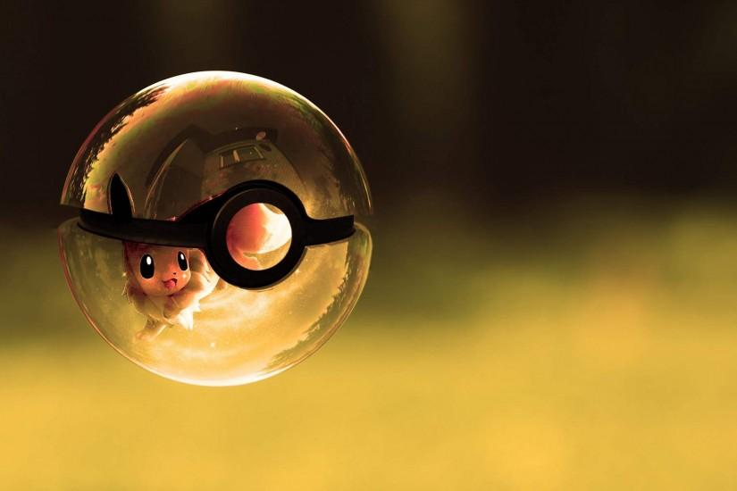 Pokemon Eevee Wallpaper 57781 Wallpaper | wallpicsize.