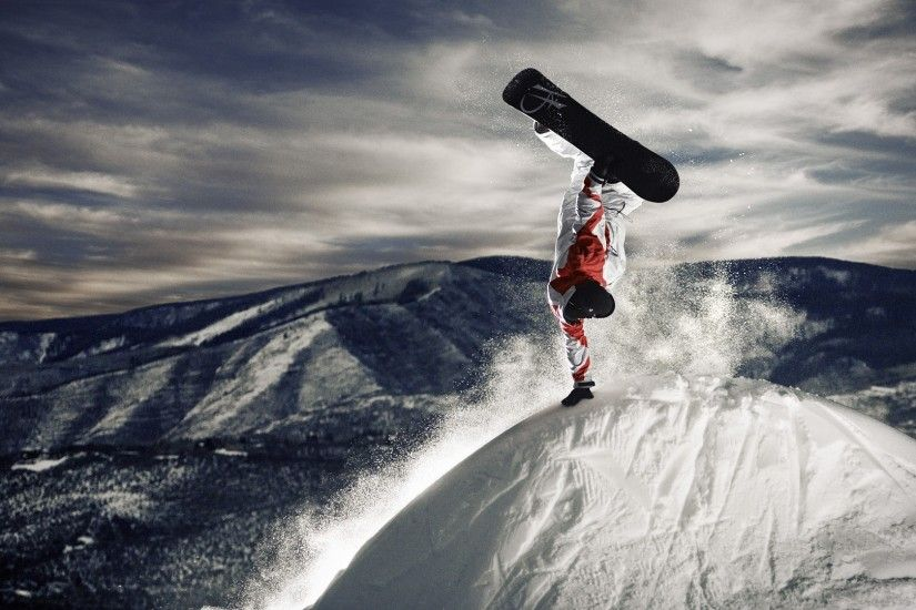 Extreme Snowboarding White Suite Wallpapers HD / Desktop and .