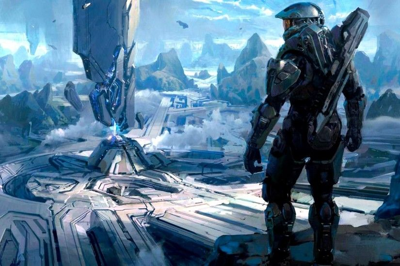 Halo 5 Master Chief Free Download HD Wallpapers.