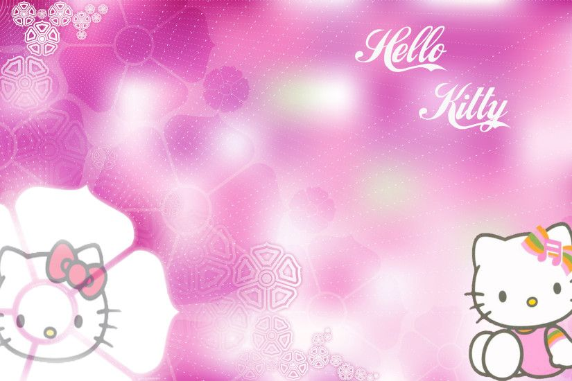 Cool Hello kitty background hd wallpapers