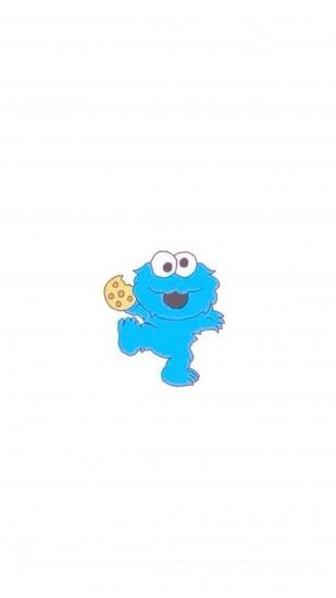 Baby Cookie Monster iPhone 6+ HD Wallpaper - http://freebestpicture.com