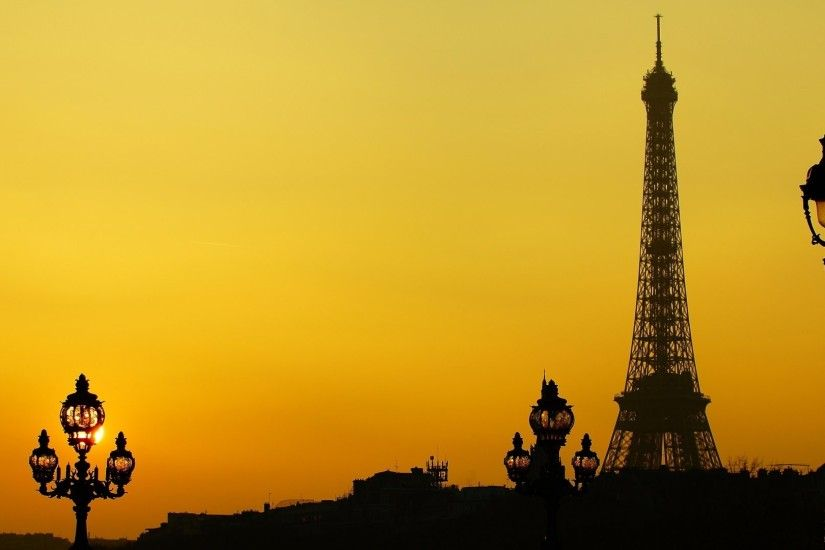 Eiffel Tower Tumblr HD Desktop Wallpaper