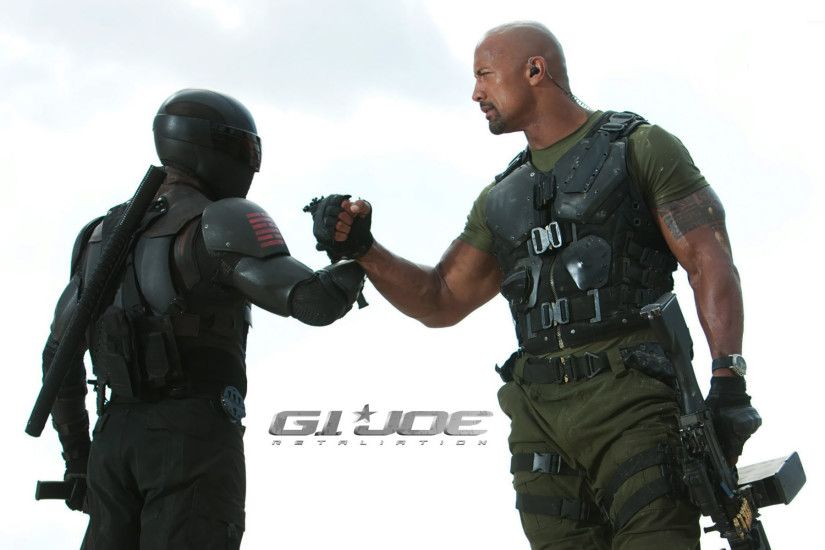 Roadblock and Snake Eyes - G.I. Joe: Retaliation wallpaper