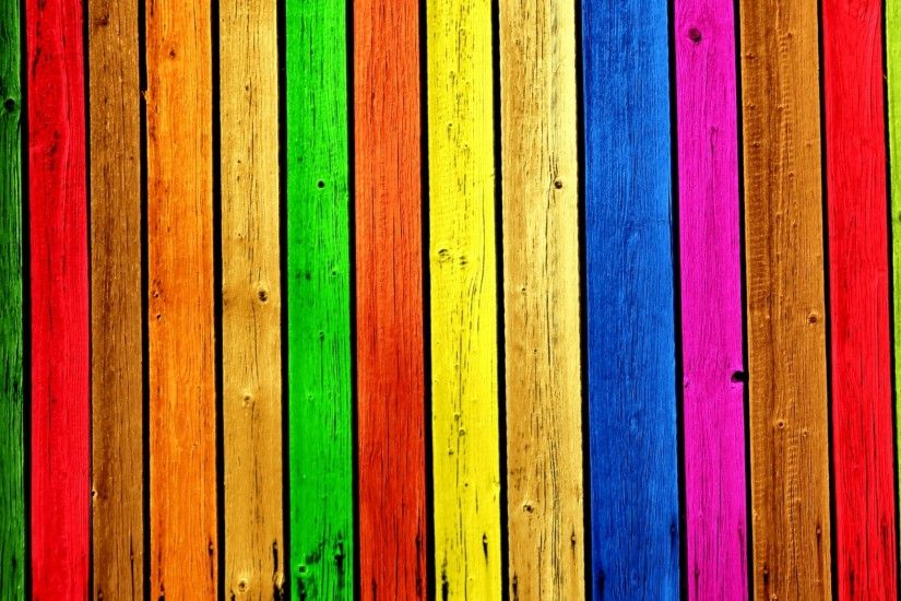 Rainbow Wood - Tap to see more awesome colourful & rainbow wallpapers! -  @mobile9