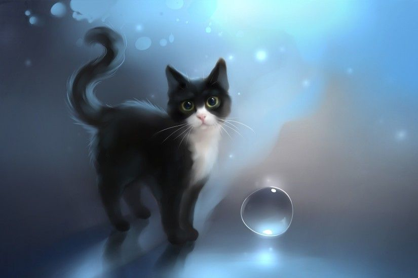 Magnificent Black Cat Wallpapers for Desktop: 27/04/2016