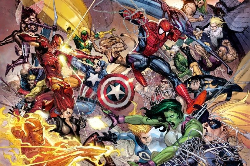 Marvel Comics Wallpaper 7 - 2048 X 1280