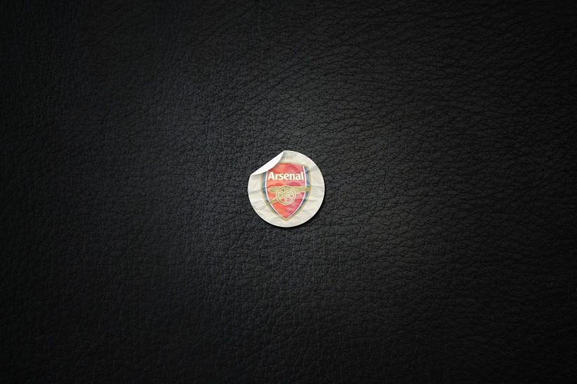 Arsenal Stunning Logo Wallpaper - Football HD Wallpapers