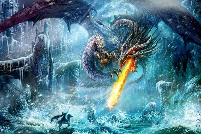 Fantasy – Dragon Wallpaper · 376351
