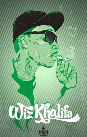 Wiz Khalifa - Wallpaper - sC ft 'Agon. by epro-creative on DeviantArt