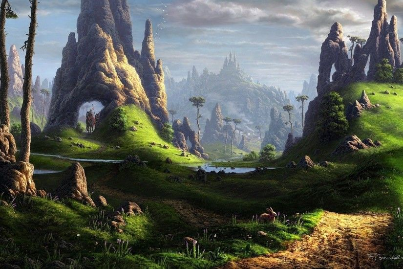 fantasy landscape wallpapers photo with high resolution desktop wallpaper  on fantasy category similar with black castle dark dragon forest landscape  white ...
