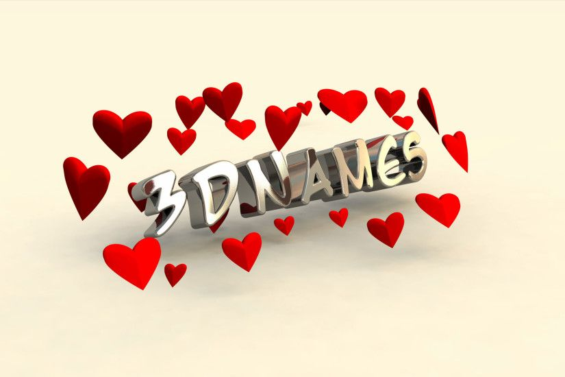 3D Name Wallpapers submited images.