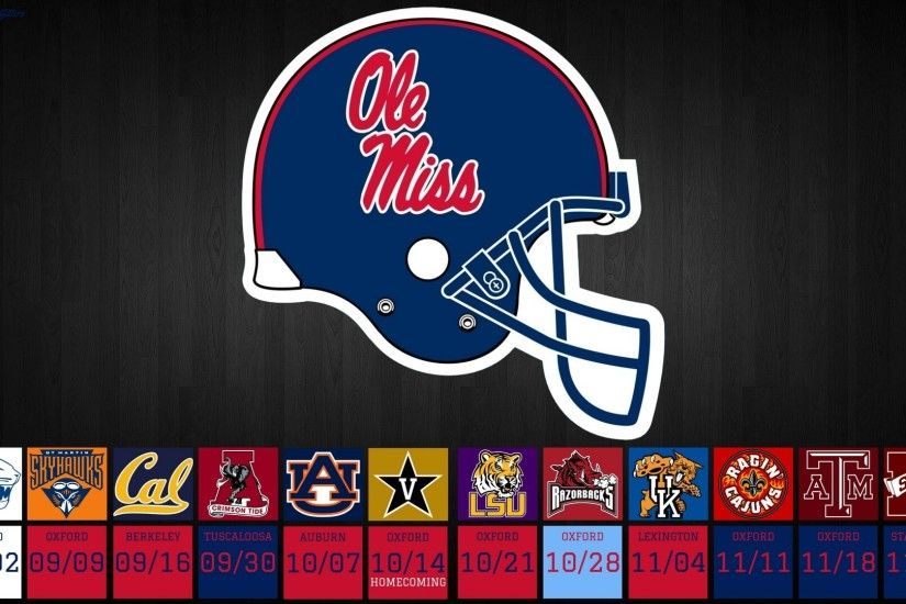 Get ready for the 2017 Ole Miss Rebels Football Season with a great Desktop  Wallpaper from Hotty Toddy Outfitters! Three to choose from!