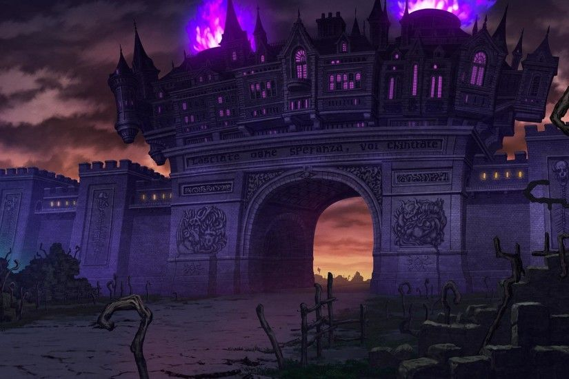 Trillion: God of Destruction Wallpaper 016 – Castle Gate