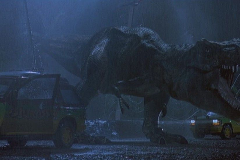 Jurassic Park T-rex Wallpaper Free For Desktop Wallpaper 1920 x 1080 px  623.08 KB