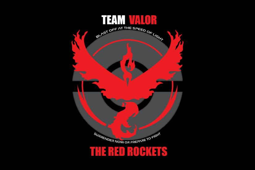 Team Valor - The Red Rockets