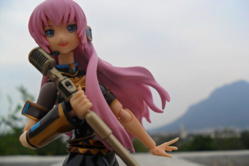 action figures images Luka Megurine HD wallpaper and background photos