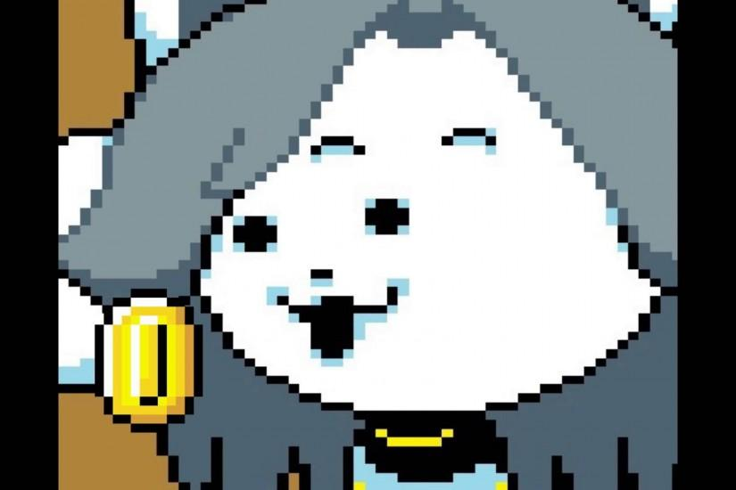 undertale temmie get money for colege - YouTube