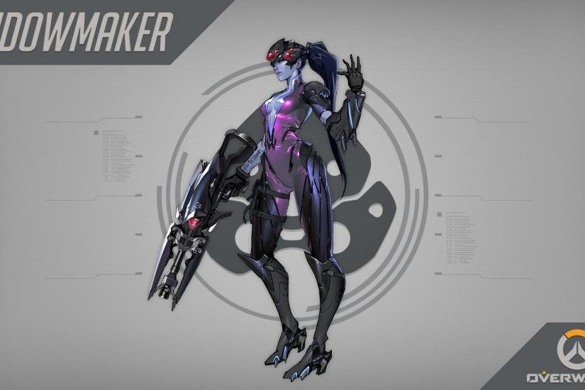 Overwatch Widowmaker · HD Wallpaper | Background ID:706753