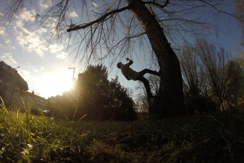 parkour, Sunset, Nature, GoPro Wallpapers HD / Desktop and Mobile  Backgrounds