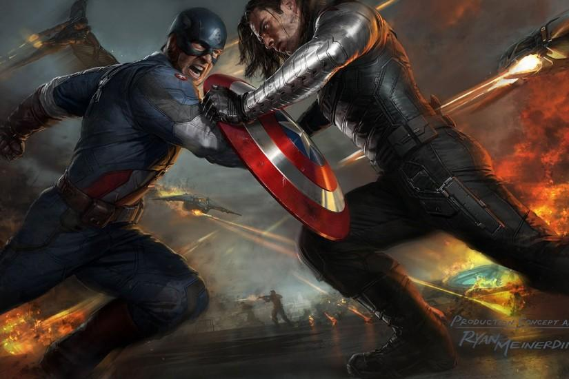 Captain America The Winter Soldier Artwork Wallpapers | HD Wallpapers