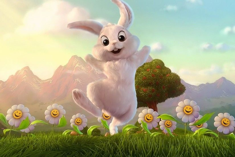 Cartoon Easter Bunny Images.
