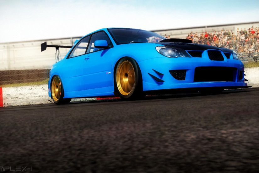 ... Shift2 - Subaru Impreza WRX STI - Wallpaper by Fusche92