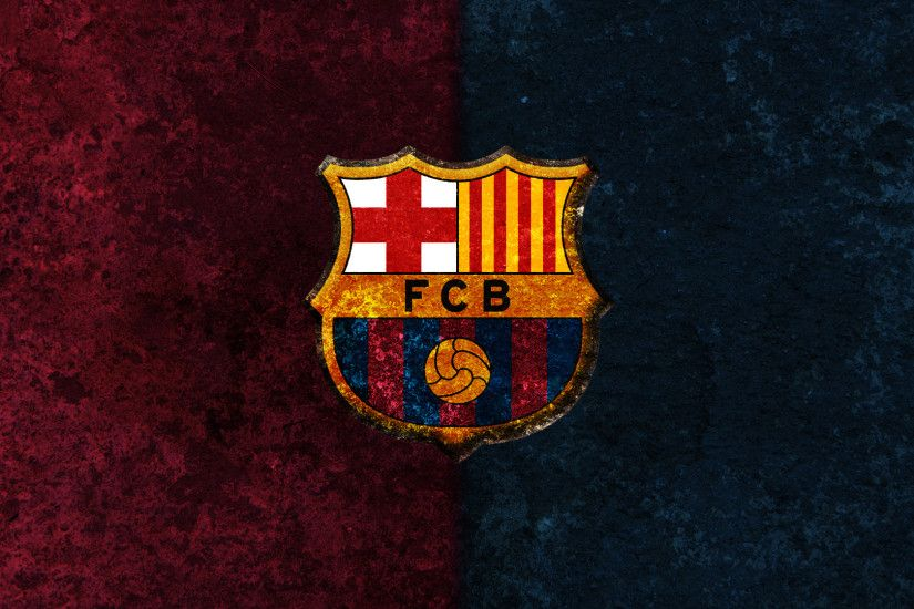 Perfect fc barcelona logo sport wallpaper hd.