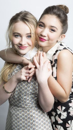 Sabrina Carpenter and Rowan Blanchard Wallpaper