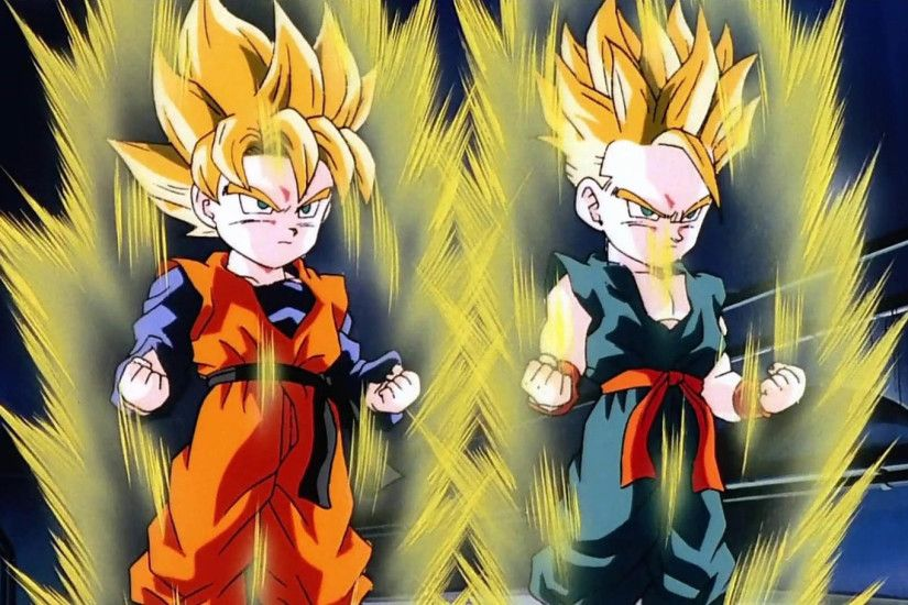 Goten and Trunks Super Saiyans 1920x1080 wallpaper