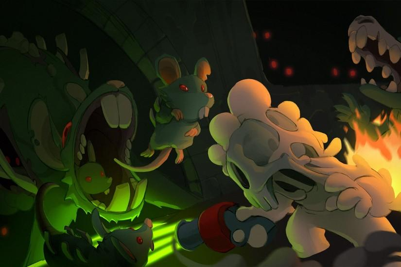 Video Game - Nuclear Throne Bakgrund