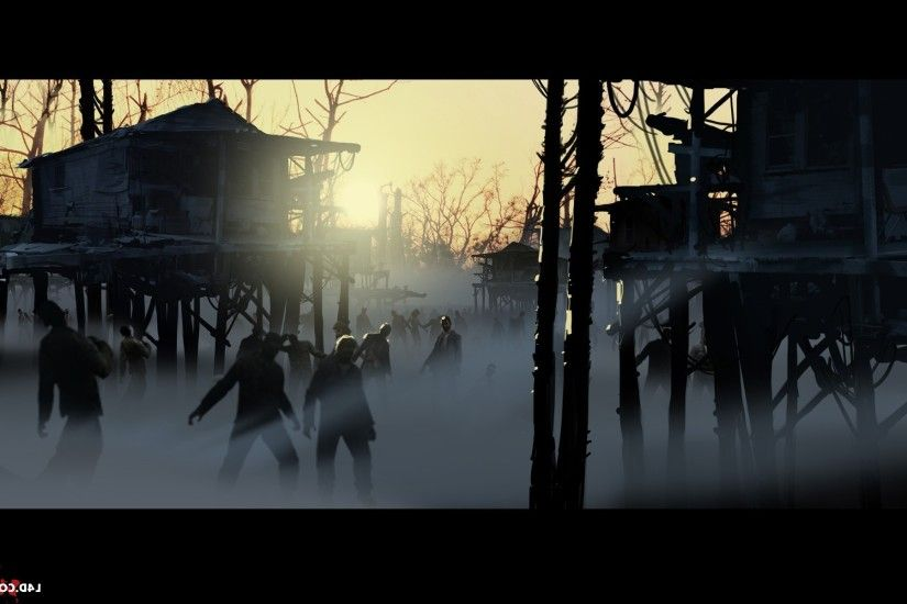 video Games, Left 4 Dead 2, Zombies, Mist Wallpapers HD / Desktop and  Mobile Backgrounds