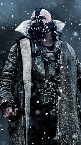 Preview wallpaper the dark knight rises, bane, art, mask 1440x2560
