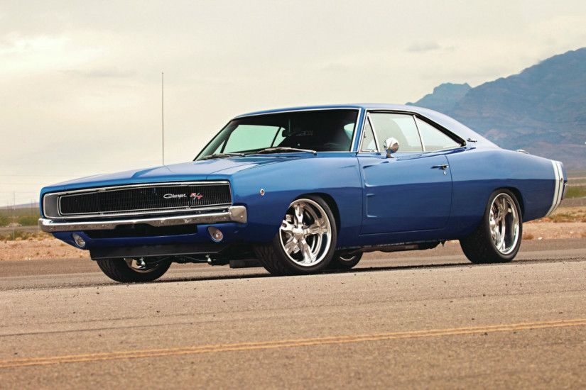 1968 Dodge Charger : Desktop and mobile wallpaper : Wallippo