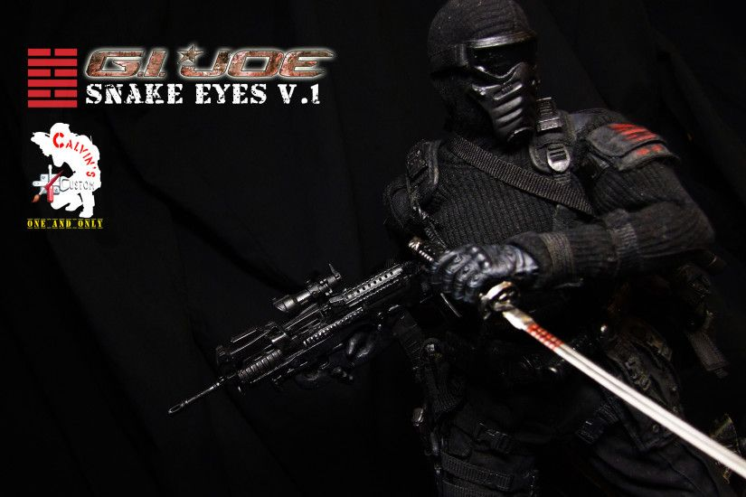Snake Eyes images Calvin's Custom Snake Eyes Version 1 HD wallpaper and  background photos