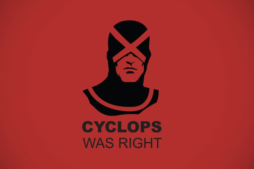 Cyclops was right wallpaper.
