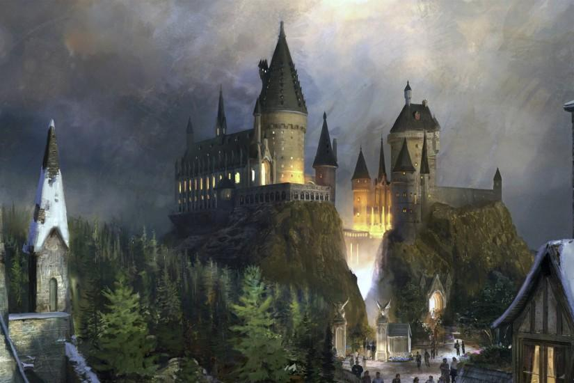 Harry Potter – Castle wallpaper