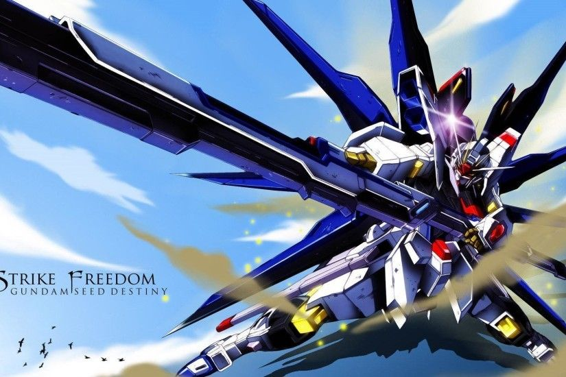 Download Gundam Seed Destiny Myspace Free Wallpaper 1920x1080 .