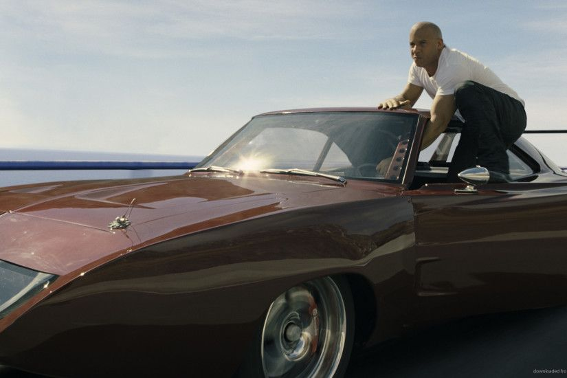 Furious 6 Vin Diesel Jumping Out Of The Car picture