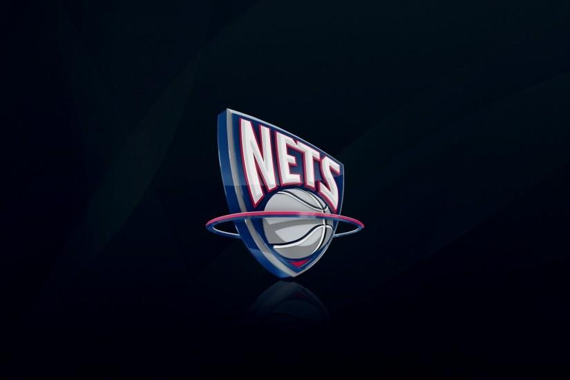 Preview wallpaper new jersey nets, nba, basketball, logo 1920x1080