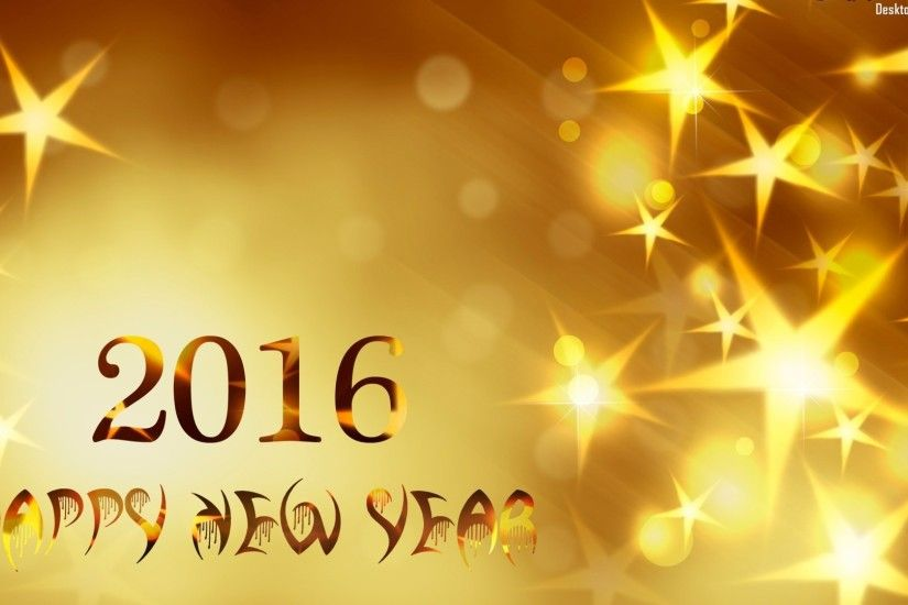 Happy New Year 2016 High Quality Wallpapers 5231 - HD .