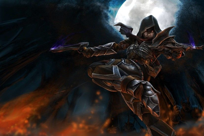 Diablo Demon Hunter Wallpaper Hdtv 3200x2021PX ~ Wallpaper Demon .