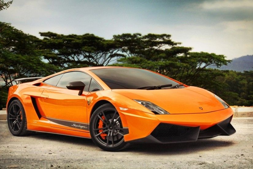 New Lamborghini Gallardo Sports Cars HD Wallpaper