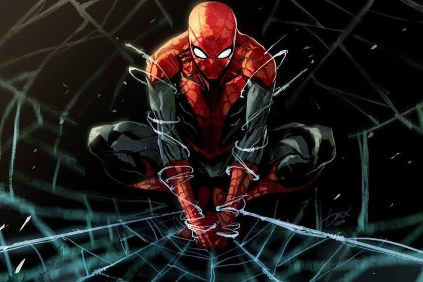 Spiderman Cartoon HD Background Wallpapers 11438 - HD Wallpapers Site