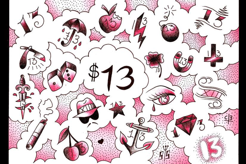 13 dollar tattoos on friday the 13th 2015