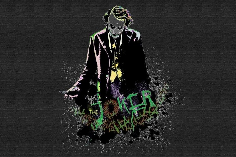 Download Wallpaper x Heath ledger Joker The dark knight